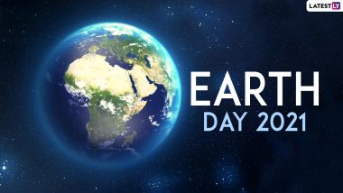 Happy Earth Day 2021 Wishes And Greetings: WhatsApp Stickers, Facebook Greetings, Wallpapers, Telegram Messages & SMS to Celebrate Mother Earth Day